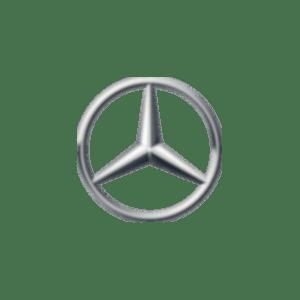 Logo mercedes-bianco